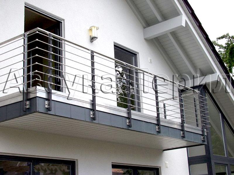 Ограждения балконов и атриумов.